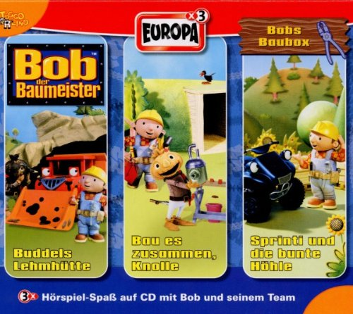 BOB DER BAUMEISTER 09/3ER BOX-BOBS BAU-BOX