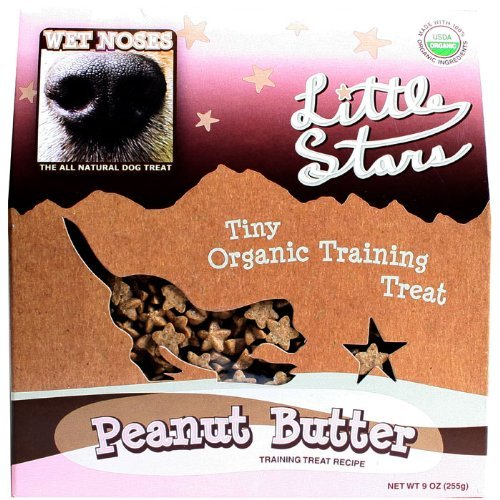 Wet  Noses All Natural  Dog Treats 545406 Wet Noses Stars Peanut butter Training Treat for Pets, 9-Ounce (Wet Noses Peanut Butter compare prices)