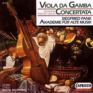 Viola Da Gamba Concertata