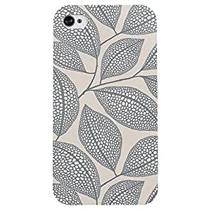 I phone 4/4s Leavy Rich Printed back cover