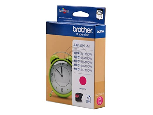 Brother MFC-J 4310 DW (LC-125 XL M) - original - Ink cartridge magenta - 1.200 Pages