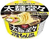 日清 太麺堂々 海鮮だしちゃんぽん 92g×12個
