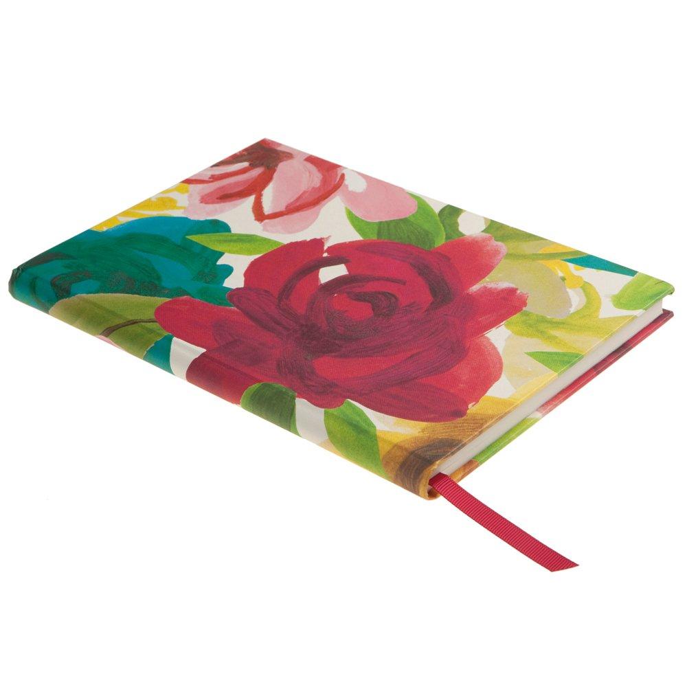 Caroline Gardner Painted Floral Design Print Casebound Desk Book Notebook