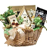 Art of Appreciation Gift Basket   Savory Sophisticated Gourmet Food Basket with Caviar - Medium