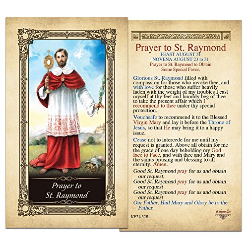prayer-to-st-raymond-laminated-holy-card