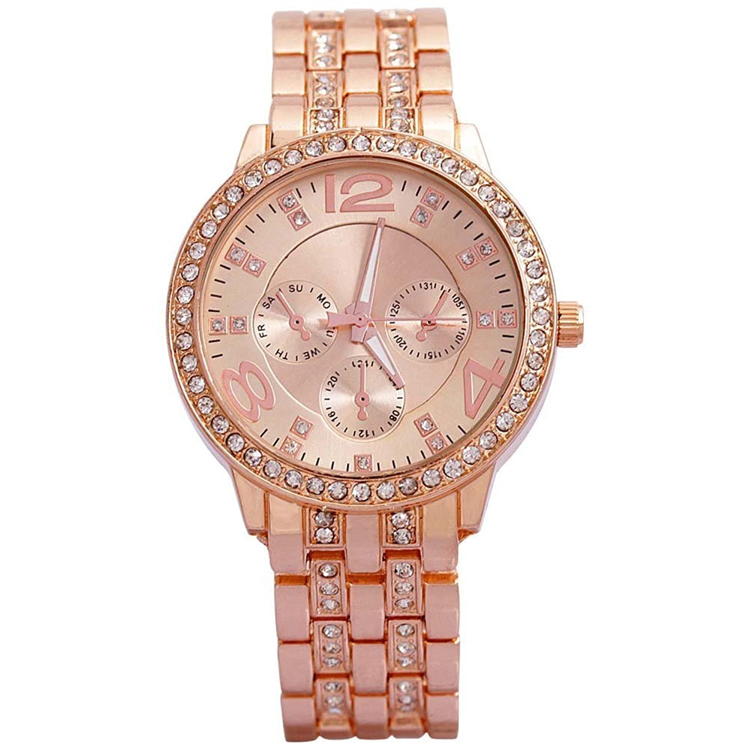 Analog Rosegold Dial Women S Watch G8027 D For Women Price