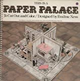 This is a Paper Palace to Cut Out and Color