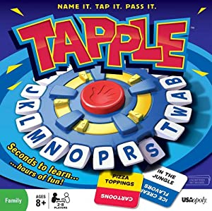 Tapple - Fast Word Fun For Everyone by USAopoly