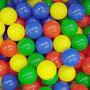 100 Multi Coloured Play Balls