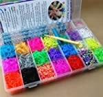 7000 Loom Bands Kit & Clips Collectio...