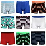 6 Pairs of Boys Boxer Shorts Super Quality Underwear Boxers Ages 7- 14
