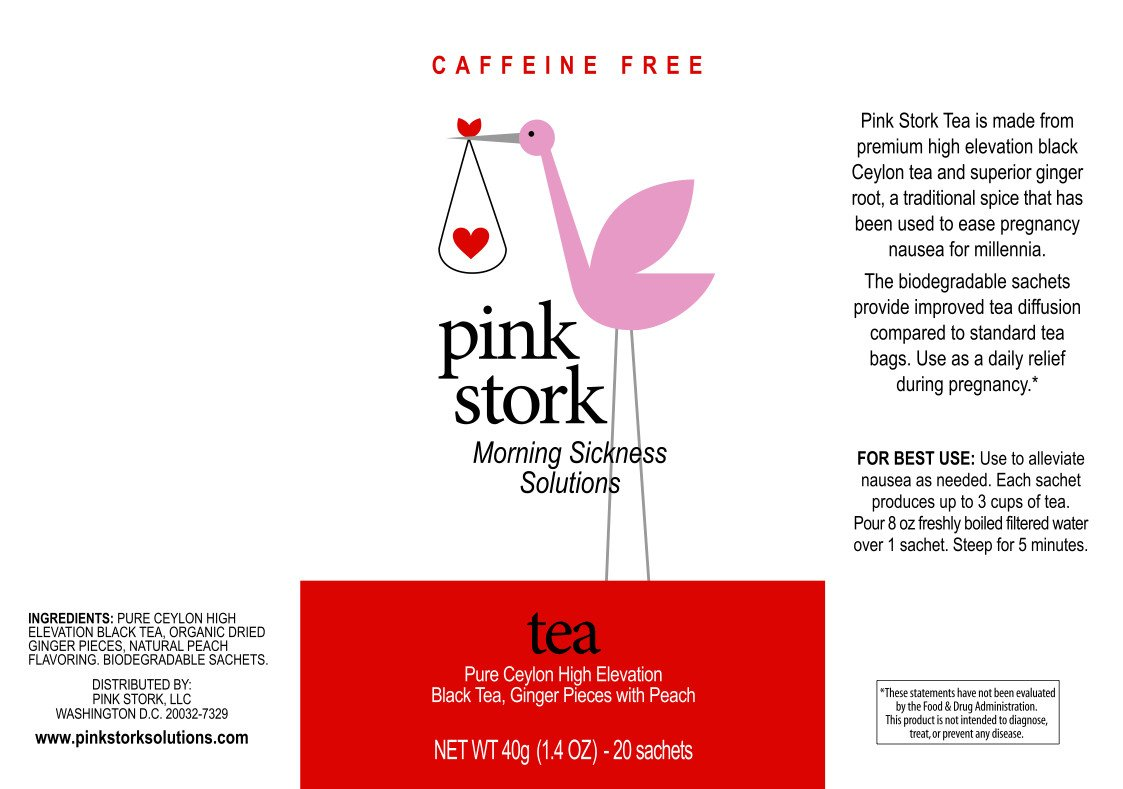 Pink Stork: Morning Sickness Solutions, Tea - Organic Ginger Peach Tea кофейный стол morning