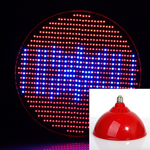 Lvjing 2014 80W E27 Based Led Grow Light Red + Blue 800 Smd Chips Garden Light For Indoor Plants Medical Plants Greenhouse (Red)