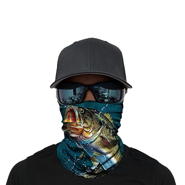 Magic Headwear MY HAPPY PLACE IS MY GARDEN Outdoor Scarf Headbands Bandana Mask Neck Gaiter Head Wrap Mask Sweatband