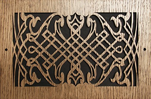 Special Cheap Web LASER CUT CHERRY VENEER WOOD VENT COVER