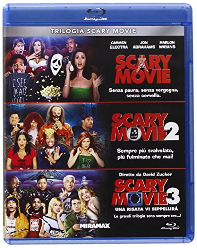 Trilogia Scary Movie (3 Blu-Ray)