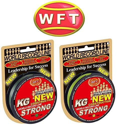 WFT-KG-STRONG-150m-012mm-15kg-geflochtene-Schnur-Meeresschnur-Angelschnur-Geflechtschnur