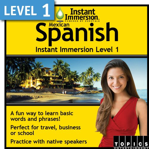 Instant Immersion Level 1 – Mexican Spanish [Download] image