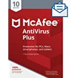 McAfee AntiVirus Plus 10 Device [Activation Code by Mail]