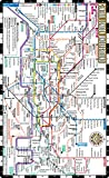 Streetwise London Underground Map - The Tube - Laminated London Metro Map: Folding Pocket Size Subway Map for Travel
