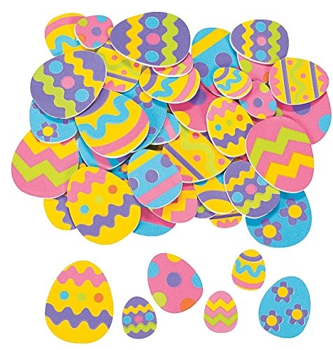 Easter Egg Shapes - Art & Craft Supplies & Foam Shapes