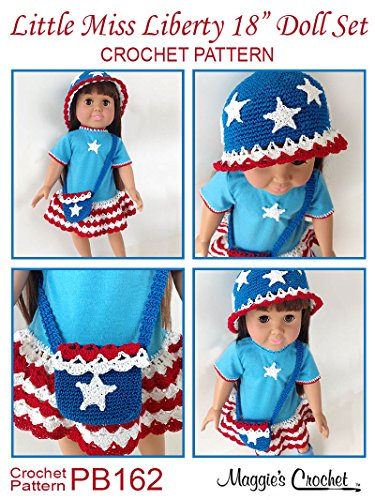 Crochet Pattern Little Miss Liberty 18