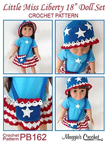 Crochet Pattern Little Miss Liberty 18