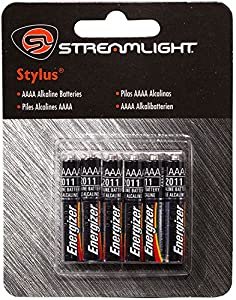 Streamlight 65030 Streamlight Aaaa Batteries 6 Pack