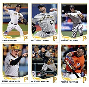 2013 Topps Baseball Cards Update Series- Pittsburgh Pirates Team MLB Trading Set - 12... by Topps