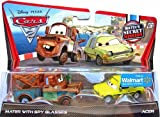 DISNEY PIXAR CARS 2 - MATER WITH SPY GLASSES & ACER. USA ONLY RELEASE