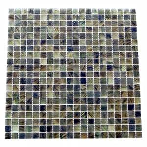 Abolos WHSAMBHPM-158 Amber Collection Oregano Matte Square Glass