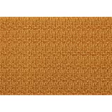 BDPP WOOD COLOUR PRINT ON FAWN BASE THICK PREMIUM WRAPPING PAPERS (PACK OF 10) WITH FREE 10 GIFT NAME TAGS WORTH...