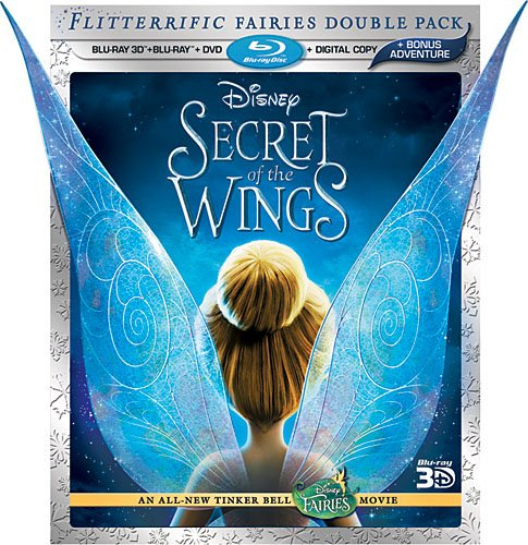 Cover art for  Secret of the Wings (Four-Disc Combo: Blu-ray 3D/Blu-ray/DVD + Digital Copy)