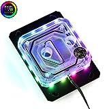 Bykski RGB CPU Water Cooling Block for Intel 775 115X 2011 AMD AM2 AM3 AM4 LGA771 (AMD CPU Block) (Color: AMD CPU Block)