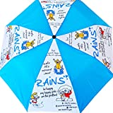 Cheeky Chunk Blue & White Umbrella