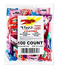 Zotz Fizzy Candy Bag, Assorted Flavor…