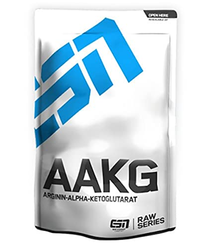 ESN AAKG L-Arginin Alpha Ketoglutarat, Raw Series, 1er Pack (1 x 0.5 kg)