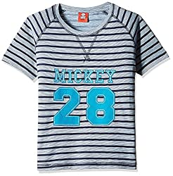 Disney Boys' T-Shirt (TC 2677_Lt.Blue_3 - 4 years)