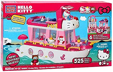 Mega Bloks Inc Mega Bloks - Hello Kitty - Hello Kitty Cruise Ship