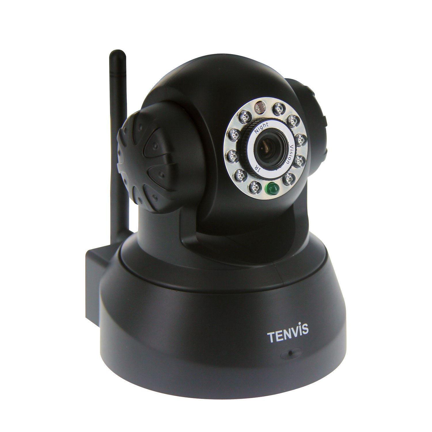 TENVIS JPT3815W Wireless IP Pan/Tilt/ Night Vision Internet Surveillance Camera Built-in Microphone With Phone remote monitoring support($45.99)