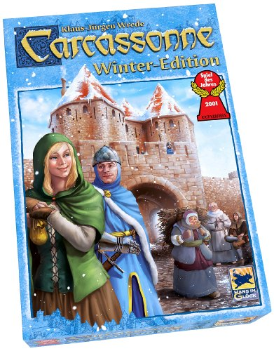 Carcassonne Board Game, Winter Edition (Francis Drake Board Game compare prices)