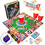 DRINK-A-PALOOZA Game: Drinking Games for Adults, The Best Adult Board Games & PARTY GAMES, Adult Games & Adults Gifts adult toys & bachelor party gifts for college parties featuring Kings drinking games, BEER PONG & flip cup