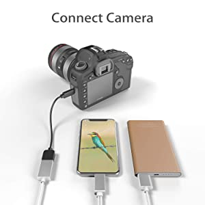 MSTJRY USB Charging OTG Adapter Cables for Phone and Cammera Connector with Charging Adapter