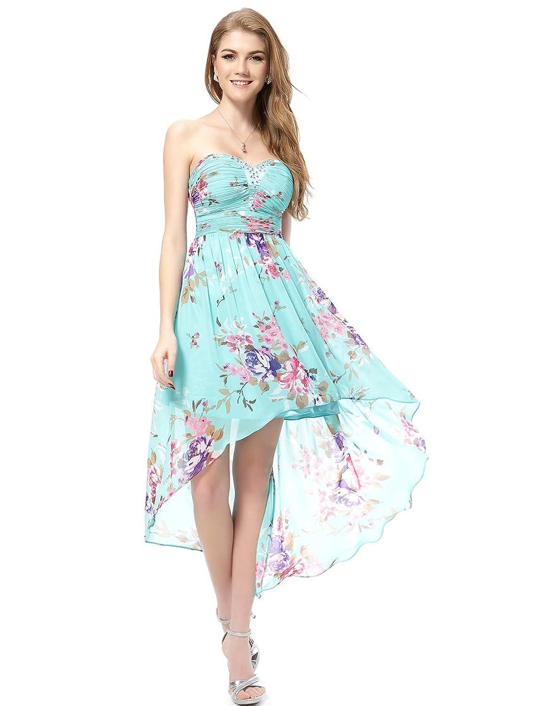 Hi-lo Floral Summer Dress