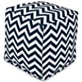 Chevron Ottoman Cube by Majestic Home Goods
