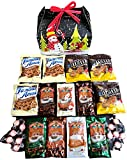Hot Cocoa & Cookies Holiday Snowman Care Package features fun Gift Box stuffed with cocoa, cookies, and peppermint candy, the perfect holiday Christmas gift for college student, military, co-worker