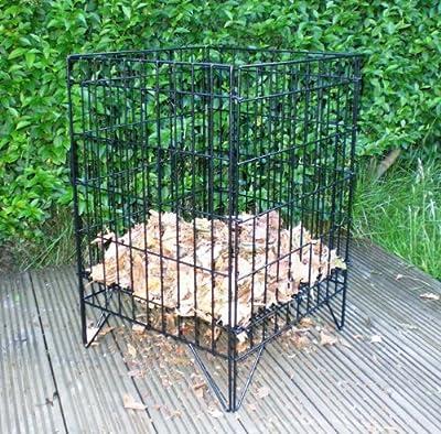 Large Garden Square Mesh Incinerator Compost Bin Burner Rubbish Leafs Fire Pit by Bestport (Europe) Ltd
