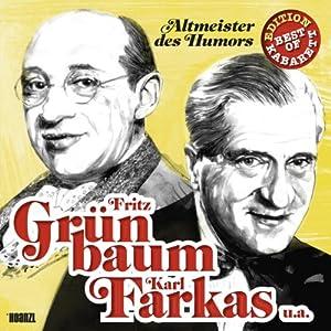 Fritz Grünbaum, Karl Farkas u.a. Hörspiel
