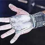 WODies crossfit gloves, wrist wraps, palm protector (Royal Blue, Medium)