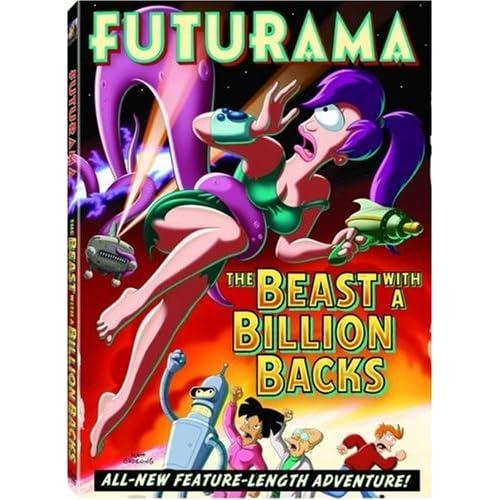 Футурама: Зверь с миллиардом спин / Futurama: The Beast with a Billion Backs (2008) DVDRip